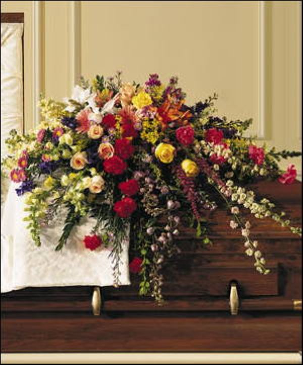 Loving Garden Casket Spray (T144-3)