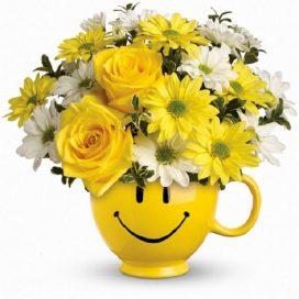 Be Happy Mug (T43-1A)