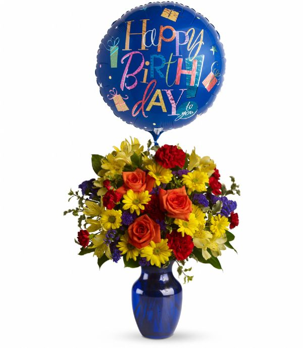 Fly Away Birthday (T24-1A) (includes 1 mylar balloon ...