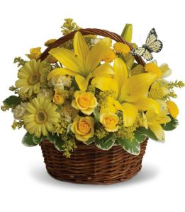 Basket of Fall Wishes (T27-2A)