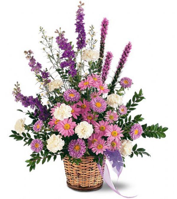 Lavender Basket (TF186-2)
