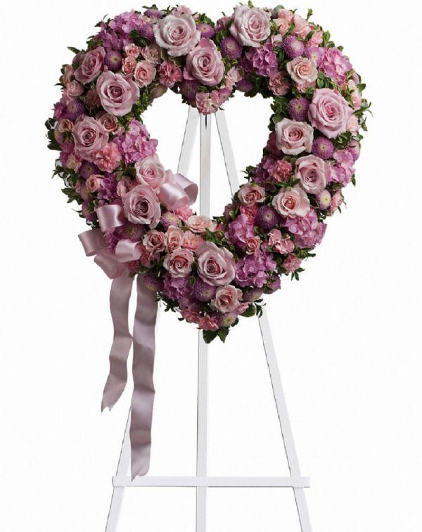 Rose Garden Heart (T238-2A)