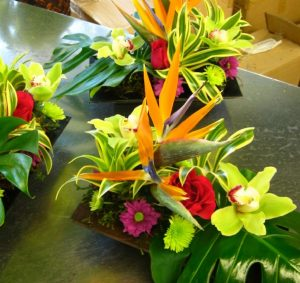Tropical Celebration Centerpiece (WED13-06)