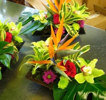 Tropical Celebration Centerpiece (WED13-06)