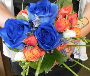 Bold Blue Bouquet (WED13-09)