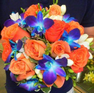 Something Borrowed Something Blue Bouquet (WED13-10)