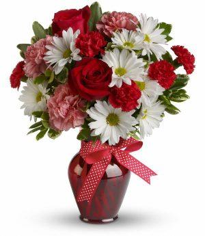 Hugs & Kisses Vase (T11Z100A)
