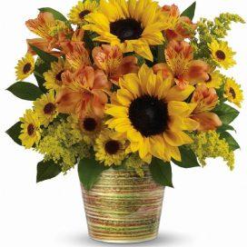 Grand Sunshine Bouquet (T14G100A)