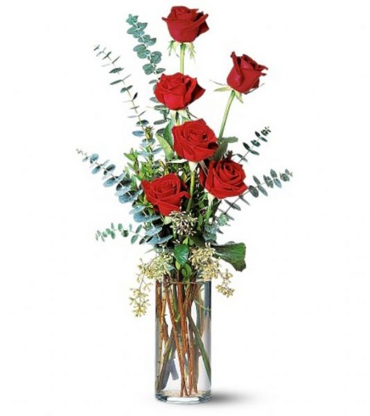 Contemporary Rose Bud Vase (TF32-1)