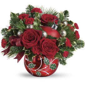 Teleflora's Deck the Holly Ornament (T19X400A)